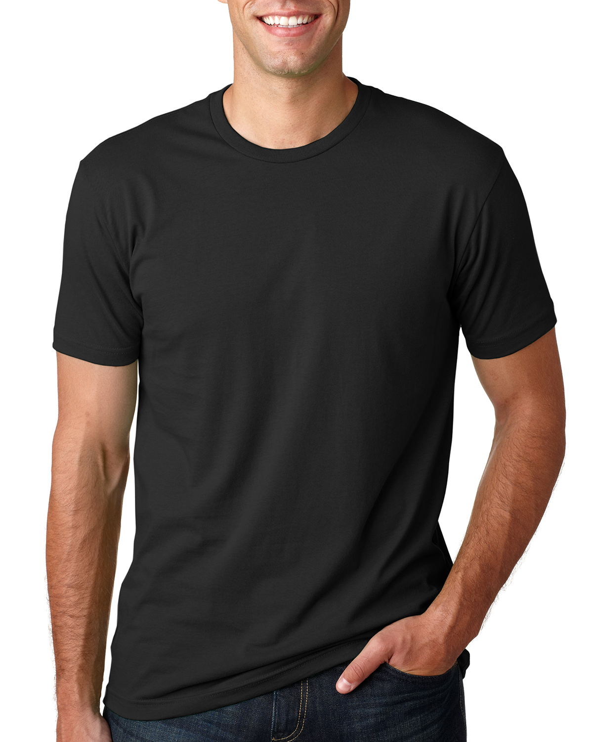 Next Level 3600 - Men's Fitted Short-Sleeve Crew