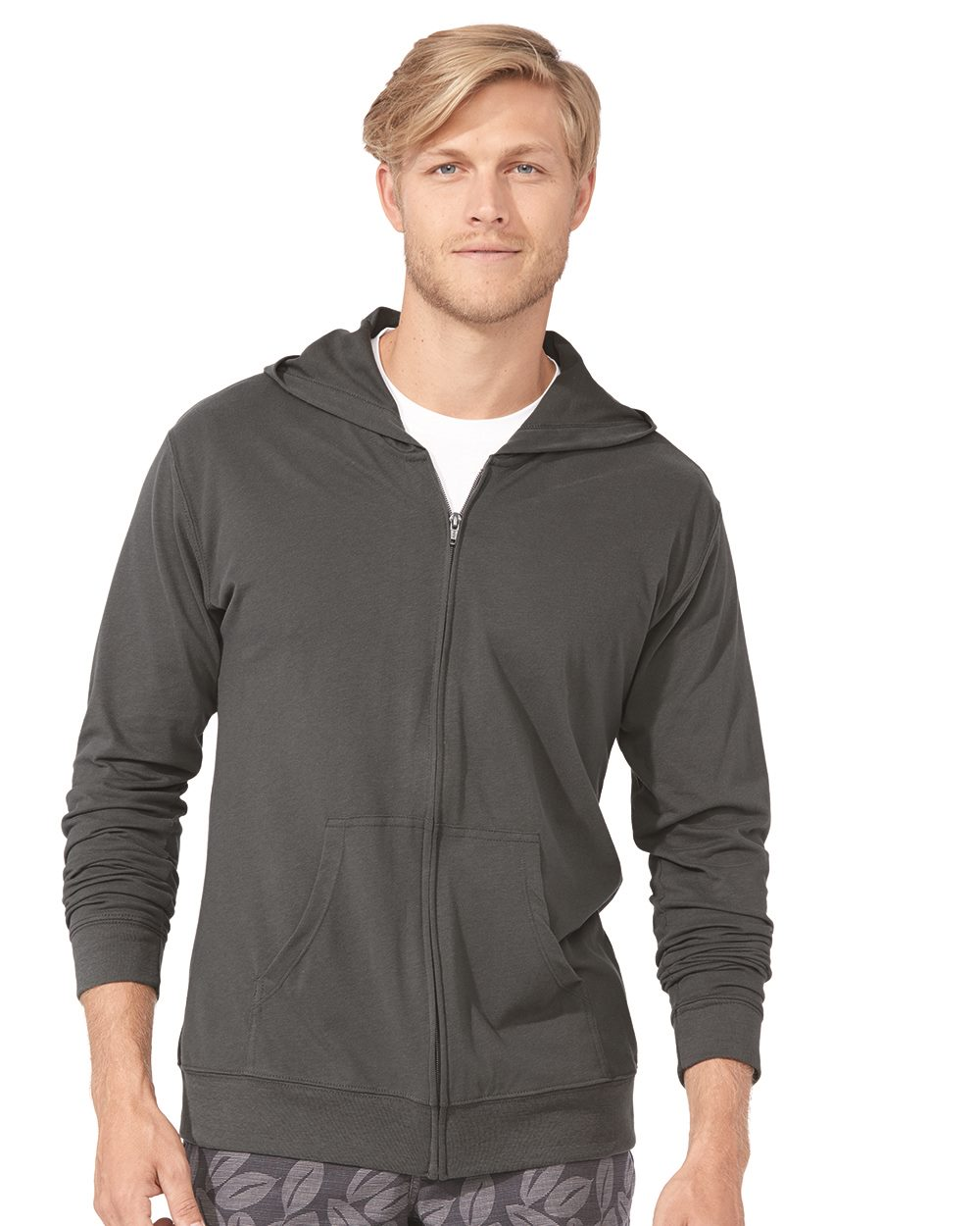 Next Level Apparel 6491 - Unisex Sueded Full-Zip Hoodie