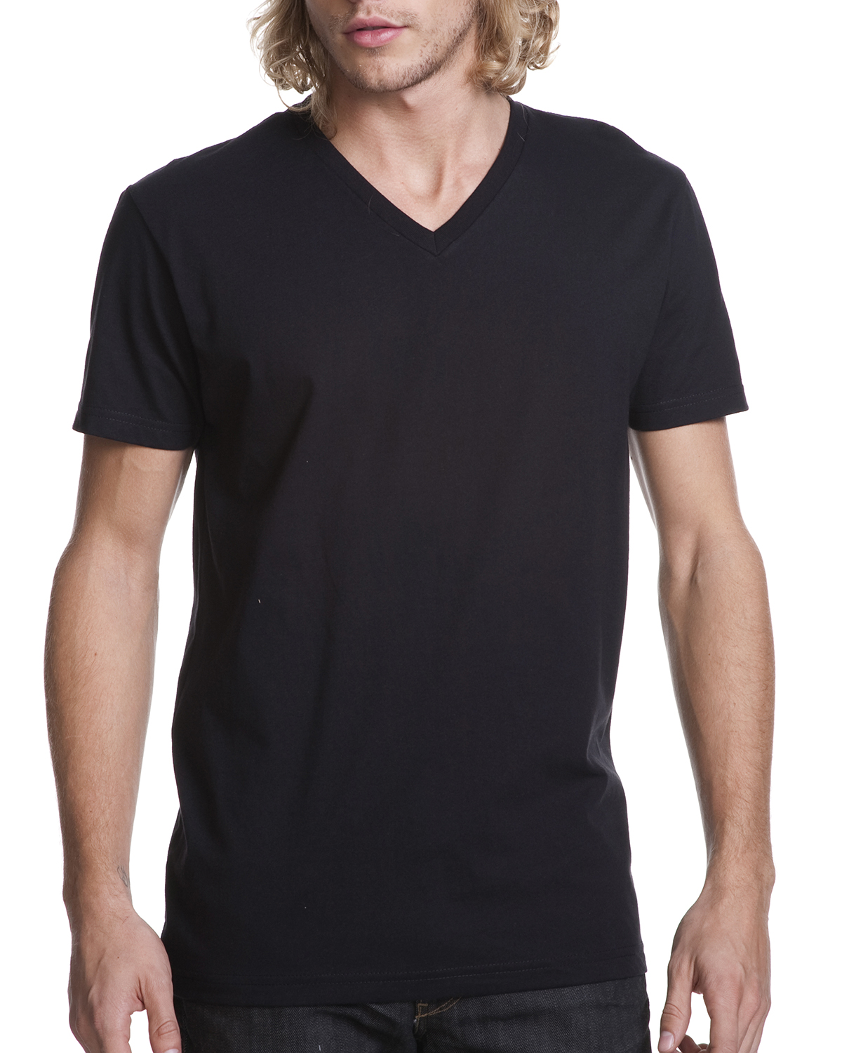 N3200 Next Level Fitted Short-Sleeve V