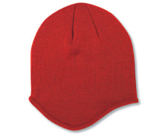 Acrylic knit solid color beanies