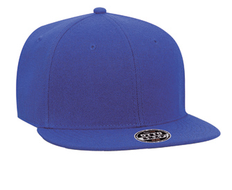 Wool blend flat visor snapback solid and two tone color six panel pro style caps