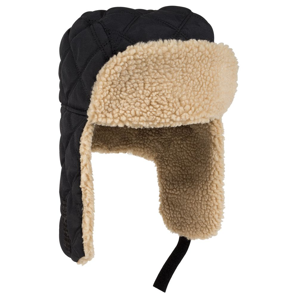 OTTOCAP 163-1183 - 3 PANEL QUILTED TRAPPER (M)(L)