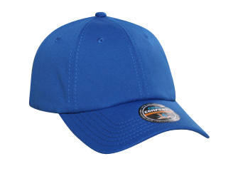 Cool Comfort polyester cool mesh solid color six panel low profile pro style caps