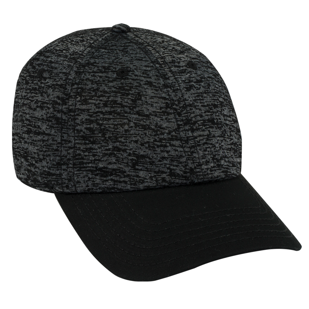 OTTOCAP 18-1231 RAYON BLEND JERSEY KNIT COTTON TWILL LOW PROFILE STYLE CAPS