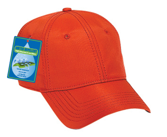 Water repellent superior nylon solid color six panel low profile pro style caps