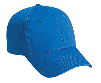Superior cotton twill solid color six panel low profile pro style caps