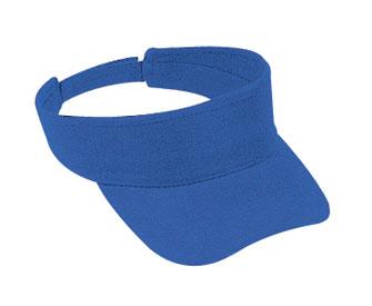 Brushed bull denim solid color sun visors
