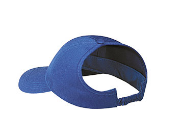 Brushed cotton twill ponytail solid color six panel low profile pro style caps