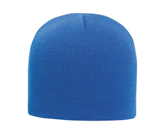 """Ultra soft acrylic knit solid color beanies, 8"""""""