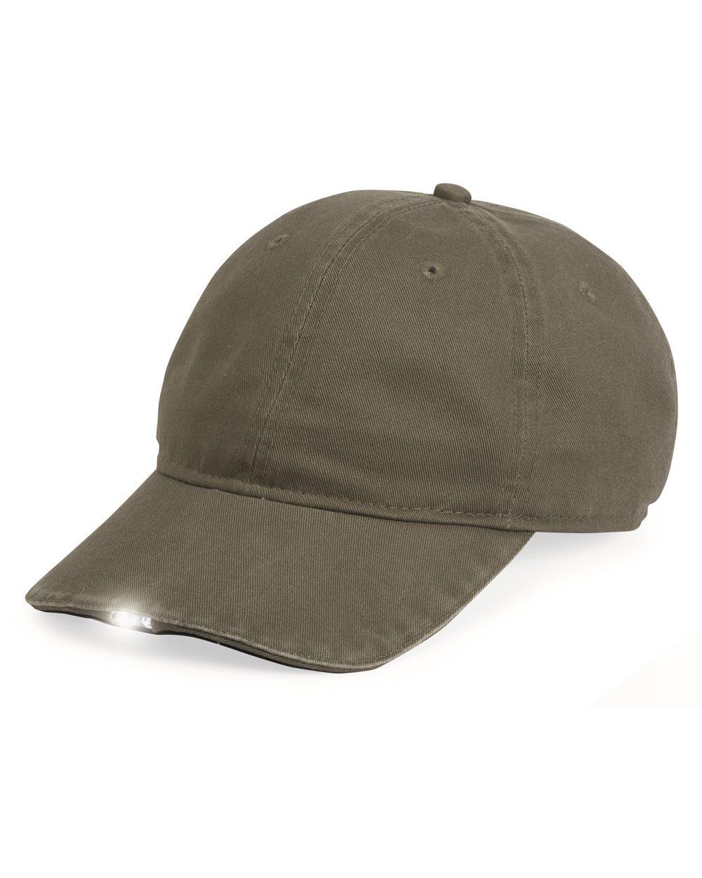 Outdoor Cap HIB652 - Hibeam Lighted Cotton Cap