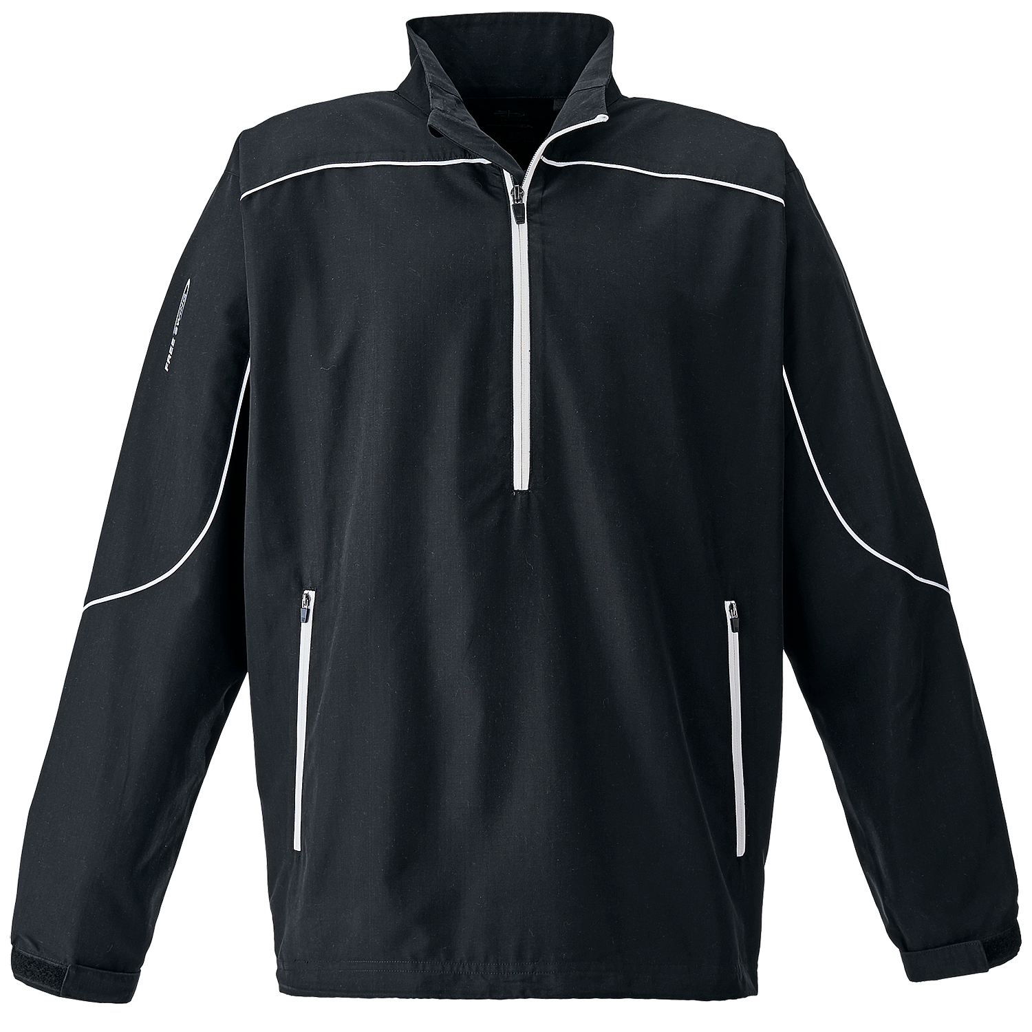 Page & Tuttle P1985 - Men's Free Swing Piped 1/4-Zip ...
