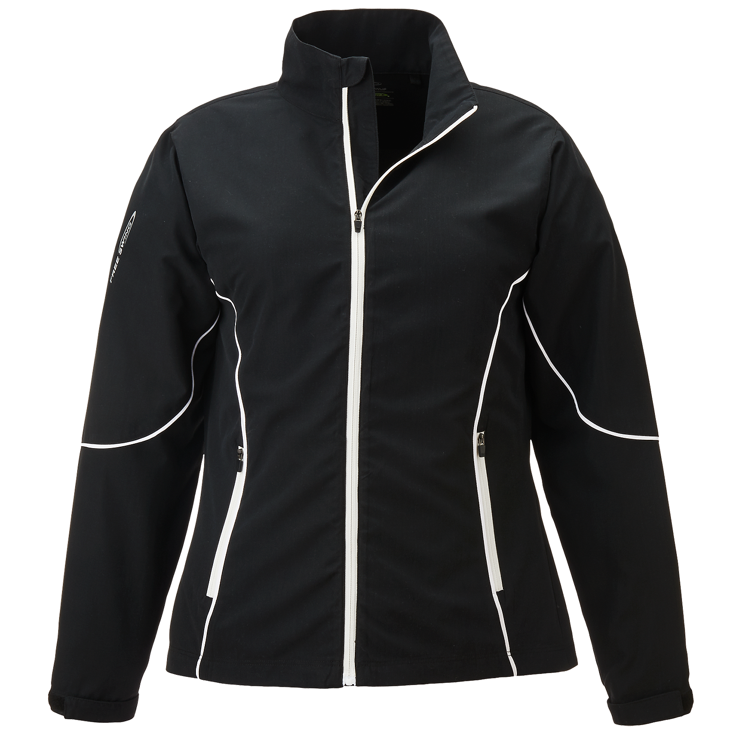 Page & Tuttle P1987 - Women's Piped Full-Zip Windshirt