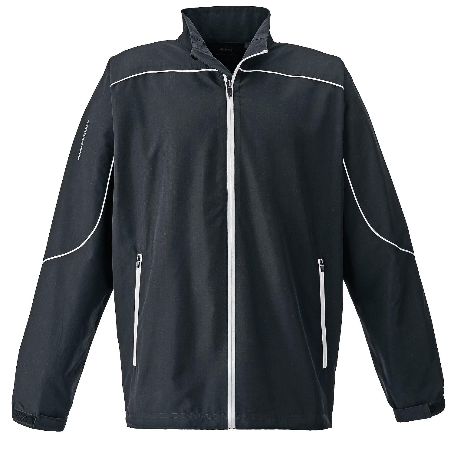 Page & Tuttle P1988 - Men's Piped Full-Zip Long Sleeve ...