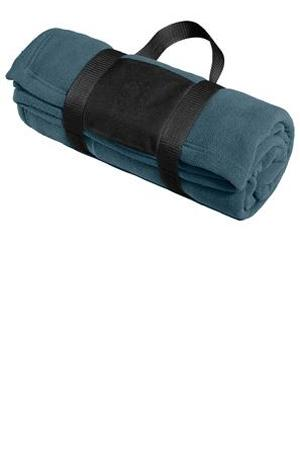Port Authority® BP20 Fleece Blanket with Carrying Strap