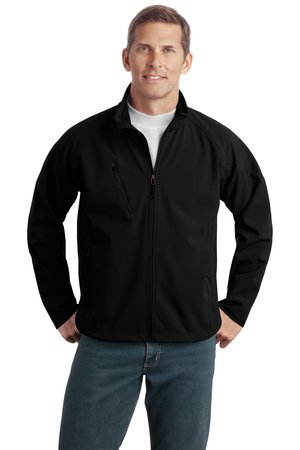 Port Authority® J705 Textured Soft Shell Jacket