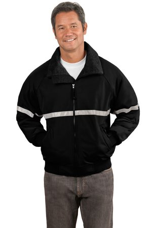 Port Authority® J754R Challenger™ Jacket with Reflective Taping