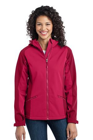 Port Authority® L312 Ladies Gradient Hooded Soft Shell Jacket