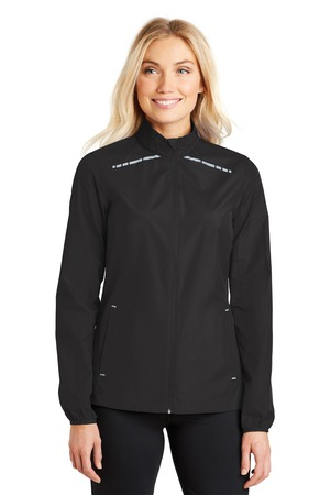Port Authority® L345 - Ladies Zephyr Reflective Hit Full-Zip Jacket
