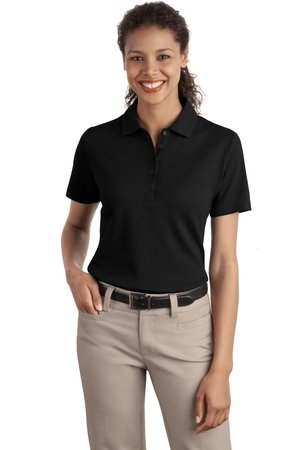 Port Authority® L499 Ladies Textured Polo with Wicking