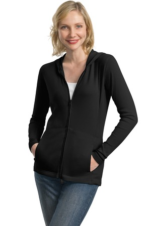 Port Authority® L519 Ladies Modern Stretch Cotton Full-Zip Jacket