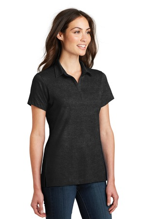 Port Authority® L577-Ladies Meridian Cotton Blend Polo