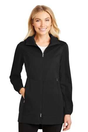 Port Authority® L719 - Ladies Active Hooded Soft Shell Jacket