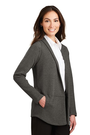Port Authority® L807-Ladies Interlock Cardigan
