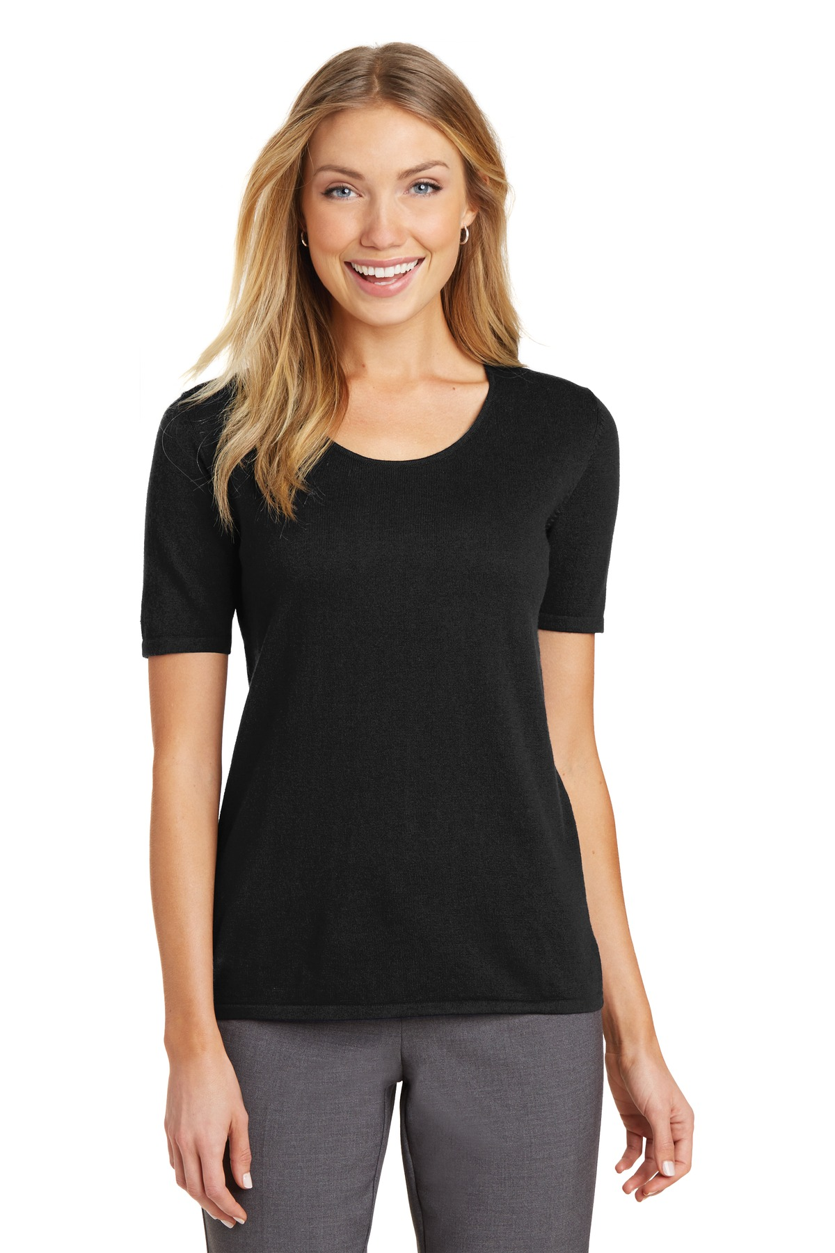 Port Authority  LSW291 - Ladies Scoop Neck Sweater