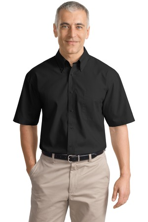 Port Authority® S633 Short Sleeve Value Poplin Shirt