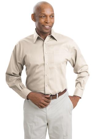 Port Authority® S638 Long Sleeve Non-Iron Twill Shirt