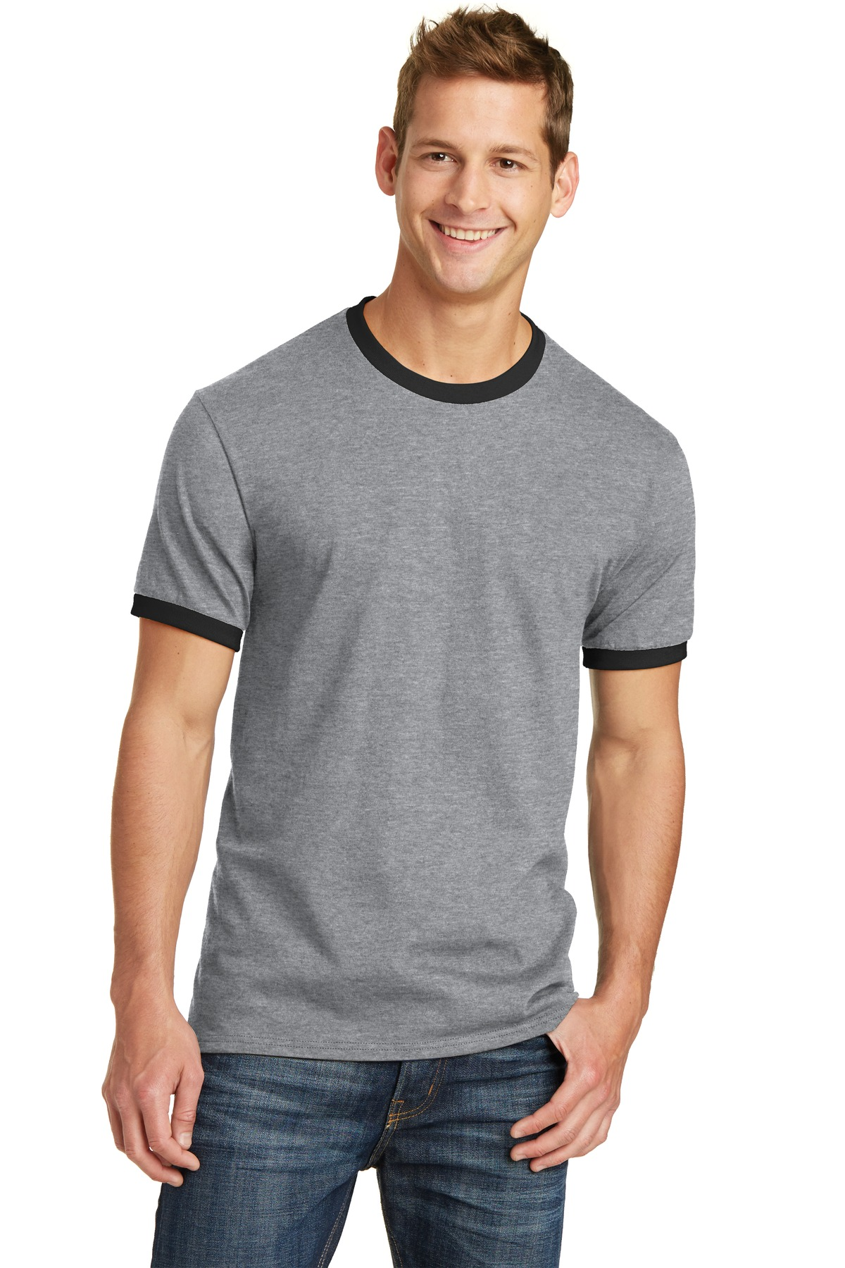 Port & Company  PC54R - 5.4-Oz 100% Cotton Ringer Tee