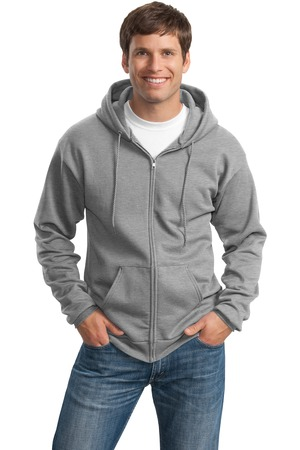Port & Company® PC78ZH Classic Full-Zip Hooded Sweatshirt