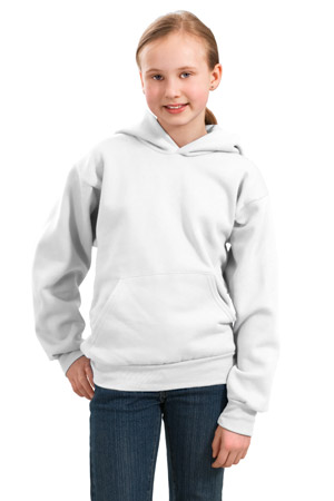 Port & Company® PC90YH Youth Pullover Hooded Sweatshirt
