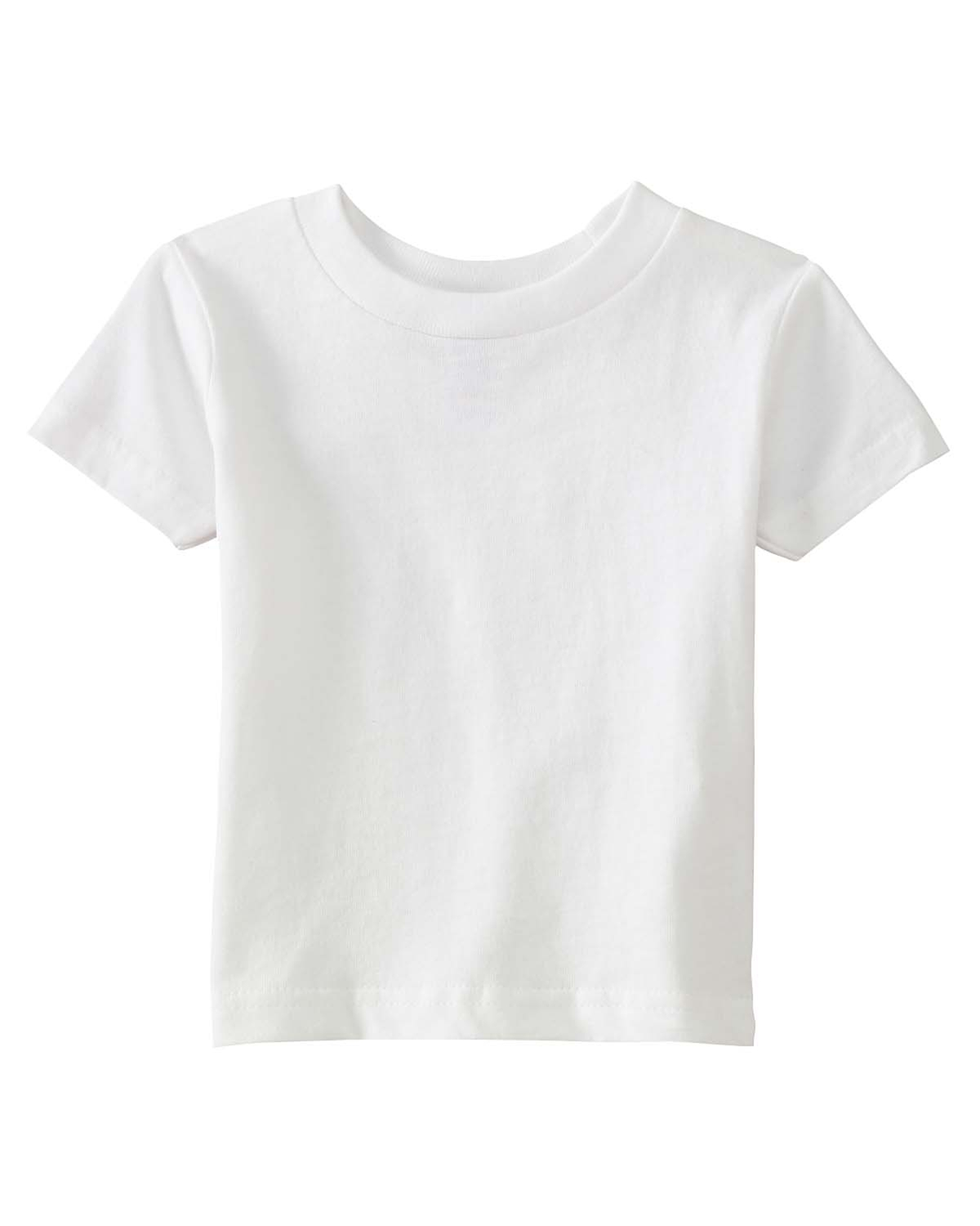 Rabbit Skins 3401 Infant Short Sleeve Cotton T-Shirt