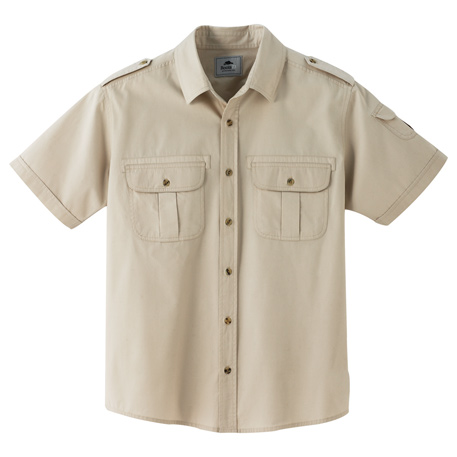 Roots73 TM17799 - Men's Grandbay Short Sleeve Shirt