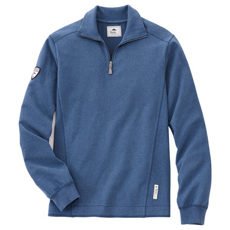Roots73 TM18701 - Men's Trentriver Knit Quarter Zip