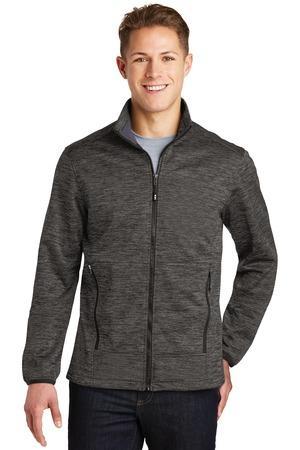 Sport-Tek JST30 - Men's PosiCharge® Electric Heather Soft Shell Jacket