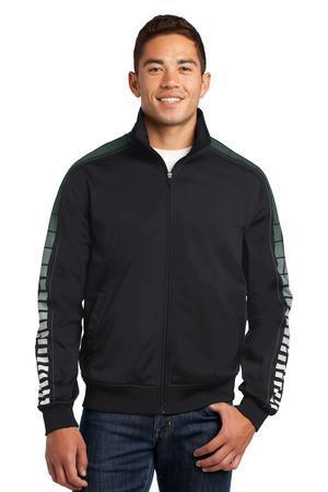 Sport-Tek JST93 Dot Sublimation Tricot Track Jacket