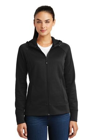 Sport-Tek LST295 - Ladies Rival Tech Fleece Full-Zip Hooded Jacket