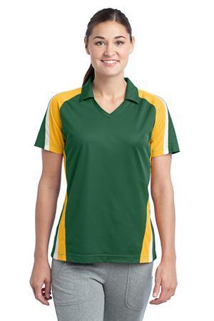 Sport-Tek® LST654 Ladies Tricolor Micropique Sport-Wick®Polo
