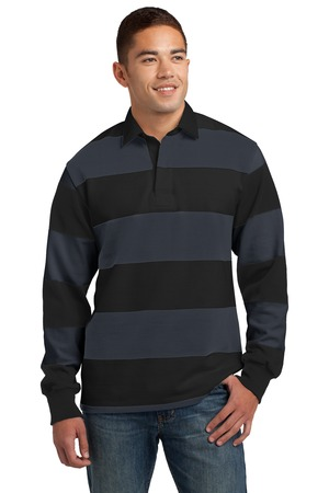 Sport-Tek ST301 - Classic Long Sleeve Rugby Polo