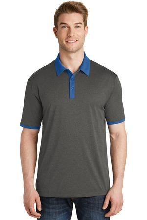 Sport-Tek ST667 - Men's Heather Contender Contrast Polo