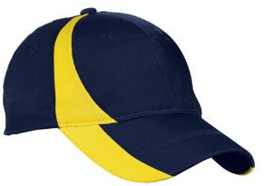 Sport-Tek® STC11 Dry Zone™ Nylon Colorblock Cap