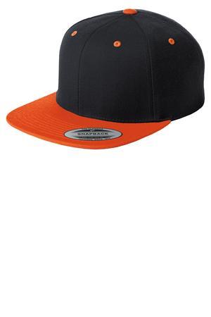 Sport-Tek® STC19 Flat Bill Snapback Cap