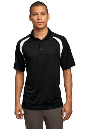 Sport-Tek® T476 Dry Zone™ Colorblock Raglan Polo