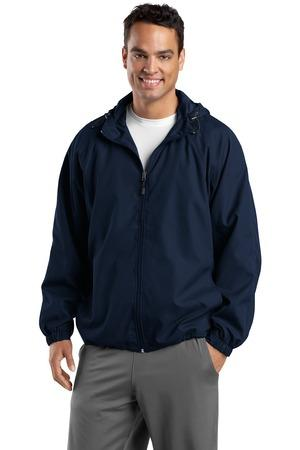 Sport-Tek Tall Hooded Raglan Jacket. TJST73