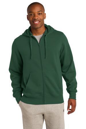 Sport-Tek Tall Full-Zip Hooded Sweatshirt. TST258