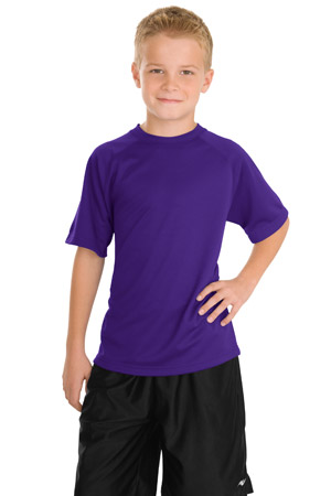 Sport-Tek® Y473 Youth Dry Zone™ Raglan T-Shirt