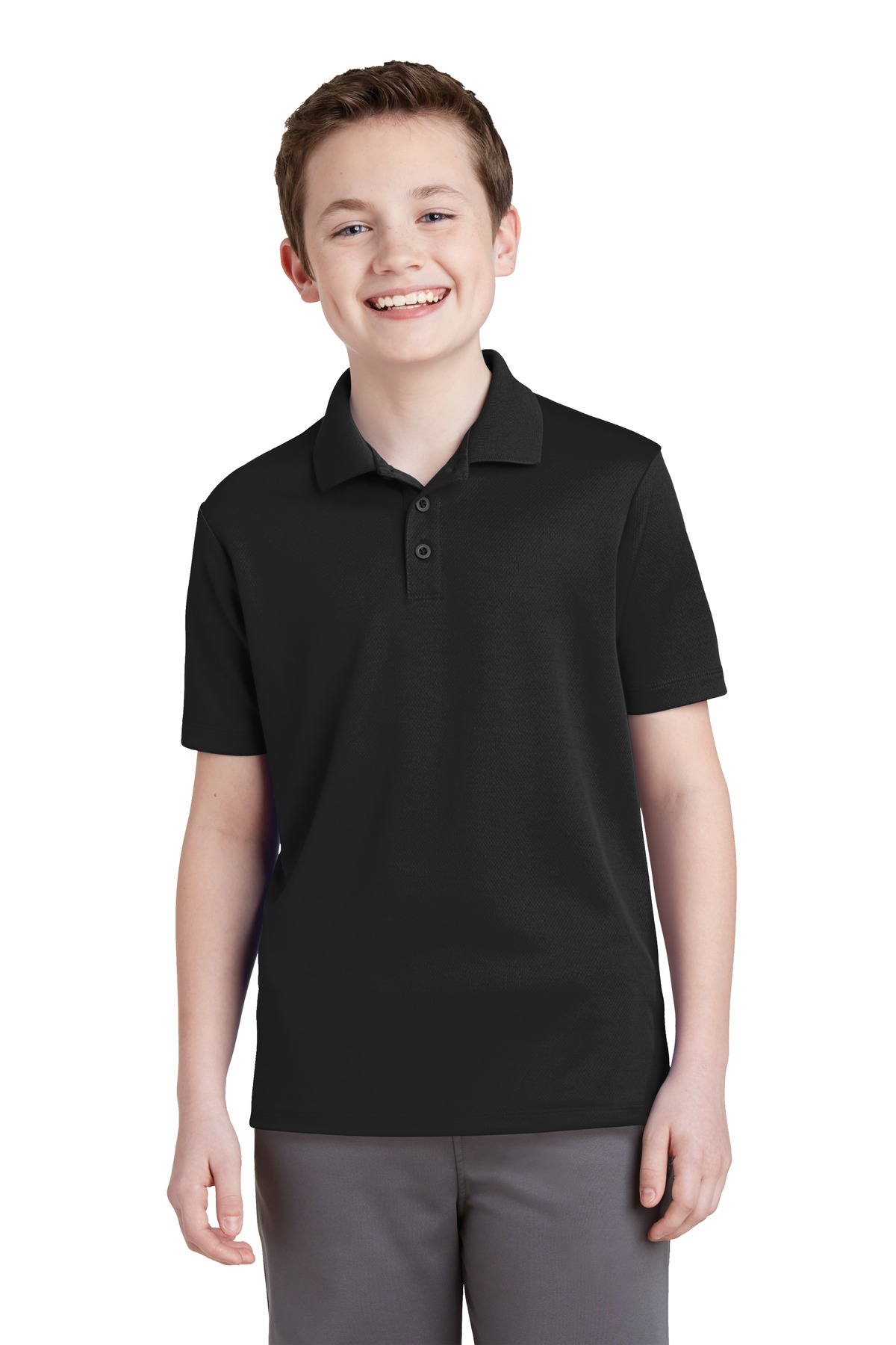 Sport-Tek  Youth PosiCharge  YST640 - RacerMesh Polo