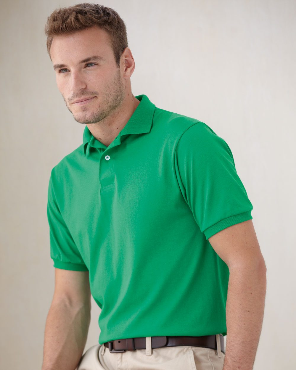 Stedman By Hanes 054X Blended JerseySport Shirt